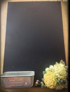 ②黒板アレンジ